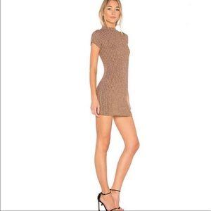 For Love & Lemons Knitz Bodycon Mini Dress